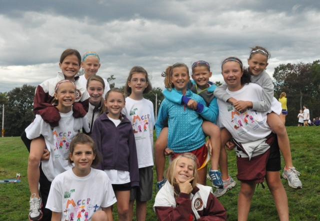 U11 Girls at 2012 MCCP Walk